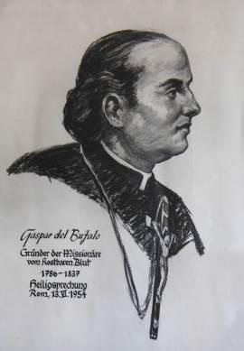Kaspar del Bufalo, Ordensgründer, Kaspar Bufalo Italien